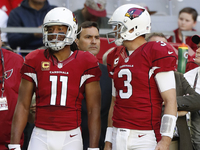 Carson Palmer, Larry Fitzgerald to sit out HOF Game