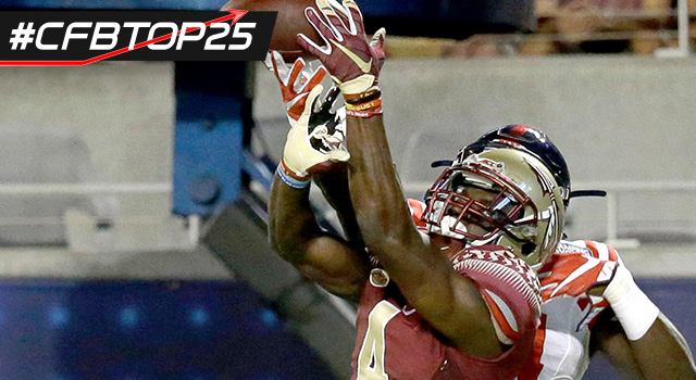FSU WR Da'Vante Phillips Suspended After Being Charged with Multiple Felonies