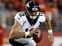 Joseph on Paxton Lynch: With time he will be a good QB