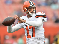 Brock Osweiler won't play in Browns-Bucs game