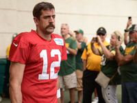 Rodgers and his giant mustache answer to no one