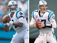 Cam Newton to pass Jake Delhomme with next win