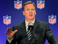 Goodell: NFL believes players should stand for anthem