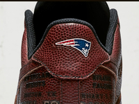 0296de3dbf0 Custom Patriots sneakers made from football leather - NFL.com