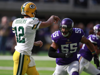 Anthony Barr: I never meant to injure Aaron Rodgers