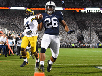 Saquon Barkley rushes for 108 yards in win over Michigan