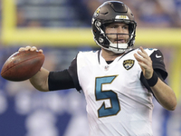 Blake Bortles, Jaguars 'break tendencies' to rout Colts