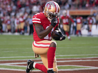 49ers' Marquise Goodwin plays following son's death