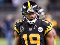 Steelers' JuJu Smith-Schuster unlikely to play vs. Bills thumbnail