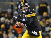 Steelers clinch North with comeback win over Ravens