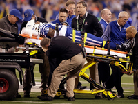Colts' Brandon Williams hospitalized with head injury