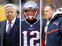 Patriots: No strife between Kraft, Belichick, Brady
