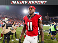 Injury roundup: Julio Jones (ankle) returns to practice