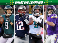 Twelve things we learned from Divisional Round games
