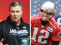 Marrone: Tom Brady could throw well left-handed