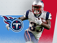 Titans expected to sign RB Dion Lewis to 4-year deal