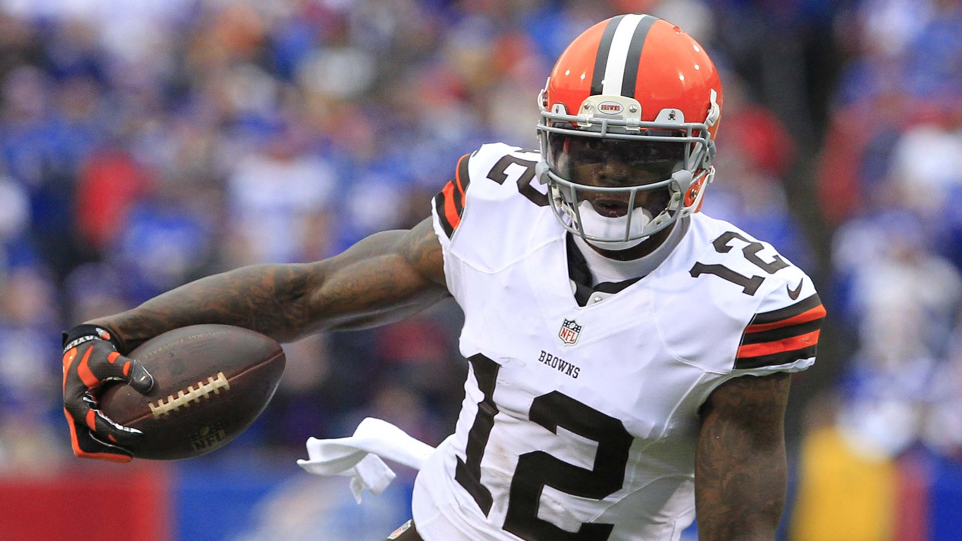 Cleveland Browns, 2012-2014<br> &raquo; Logged 161 receptions, 2,754 receiving yards and 14 receiving touchdowns<br> &raquo; Led the NFL in receiving yards in 2013 with 1,646 despite missing the first two games due to suspension<br> &raquo; Only player ever to record back-to-back games with 200-plus receiving yards (Recorded 498 receiving yards in Week 12 and Week 13 of the 2013 season)<br> &raquo; Gordon?s latest bid for reinstatement to the NFL was denied don May 11, 2017