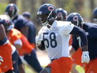 Roquan Smith not at start of camp with Bears rookies