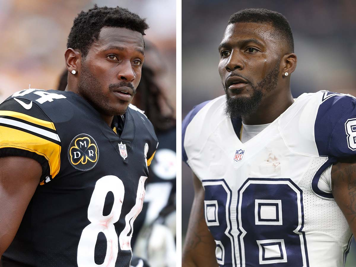 Antonio Brown To Dez Bryant Come Play With Steelers Nfl Com
