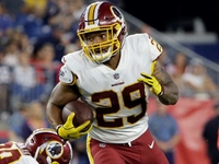 Redskins rookie RB Derrius Guice suffers torn ACL