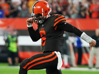 Browns snap 19-game winless spin in Mayfield debut thumbnail