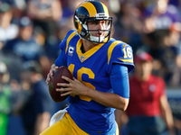Jared Goff's historic night time leads Rams previous Vikings thumbnail