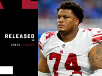 Giants release outdated school first-round grab Ereck Vegetation thumbnail