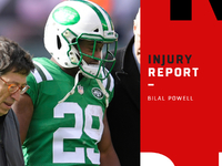Injury roundup: Jets situation RB Bilal Powell on IR thumbnail