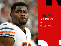 Accidents: Bears LB Khalil Mack questionable vs. Jets thumbnail