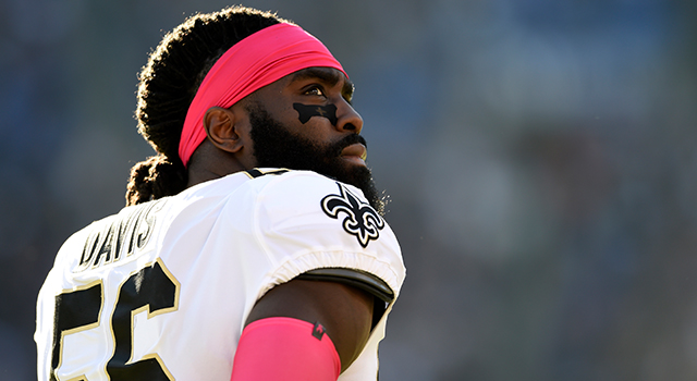In his first season with the Saints, star linebacker Demario Davis has been quite active with outreach in the New Orleans community -- and beyond.