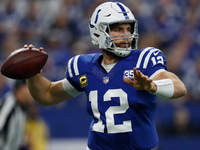 Week 11 Fantasy Live Blog: Luck, Colts rolling in Indy