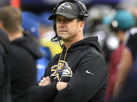 Harbaugh: I was surprised Terrell Suggs left Ravens thumbnail