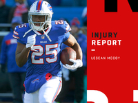 Injuries: LeSean McCoy (hamstring) day-to-day