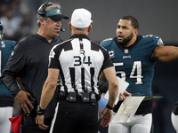 Eagles blast 'ridiculous' call on opening kickoff