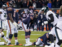 Mitchell Trubisky throws 'support' behind Cody Parkey thumbnail