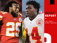 Injuries: Chiefs preparing for Colts without Eric Berry thumbnail