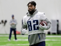 Delanie Walker: Arthur Smith a 'great hire' as Titans OC thumbnail