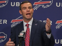 Bills GM Beane glad he's not searching for QB this year thumbnail