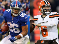 Saquon Barkley, Baker Mayfield have OROY wager thumbnail