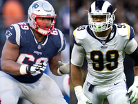 Patriots OL gearing up to face Rams star Aaron Donald thumbnail
