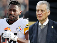 Antonio Brown to meet with Steelers owner Art Rooney thumbnail