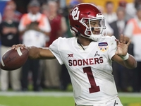 Kyler Murray doesn't plan to throw at combine thumbnail