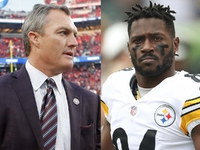 Lynch: 49ers haven't made play for Antonio Brown thumbnail