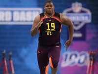 Quinnen Williams one of fastest 300-pounders in combine history thumbnail