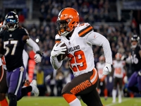 Browns RB Johnson reportedly drawing trade interest thumbnail
