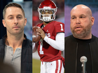 Keim, Kingsbury won't attend Kyler Murray's pro day thumbnail