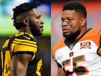 Antonio Brown insists there's no issue with LB Burfict thumbnail
