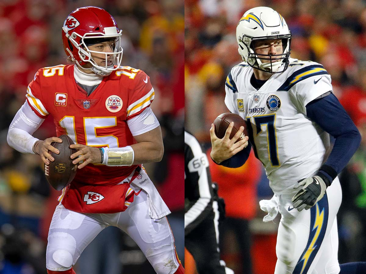 Ranking divisions by quarterback: AFC West, NFC West top list