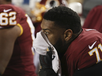 Bruce Allen knows truth of Trent Williams' absence thumbnail