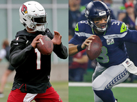 Sweezy: Kyler Murray will back up Wilson comparisons thumbnail